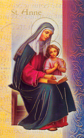 Biography Of St Anne