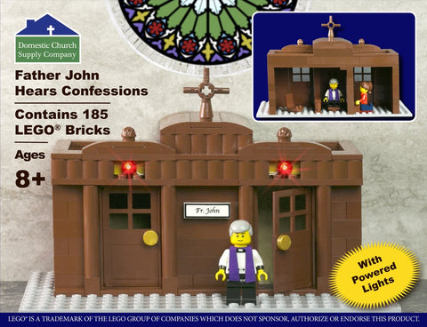 Father John Hears Confession LEGO® Set