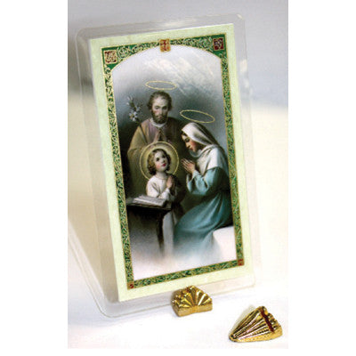 Holy Card Stand Gold Piece
