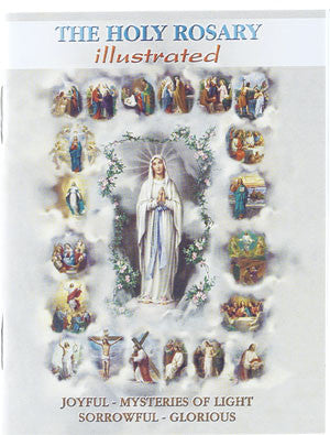 Holy Rosary Illustrated 4 x 6""