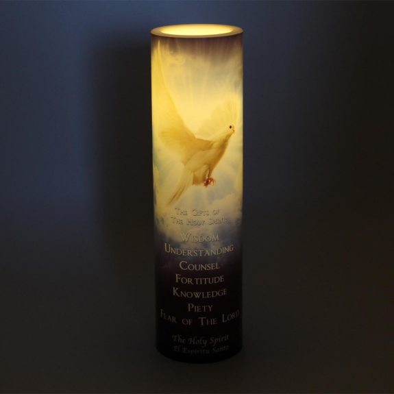 LED Candle – Seven gifts of the Holy Spirit