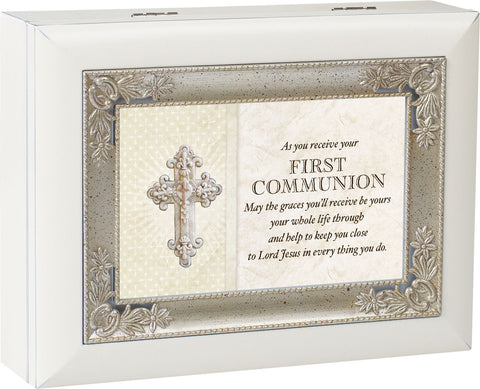 First Communion Keepsake Music Box
