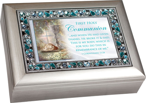 First Holy Communion Music Keepsake Box