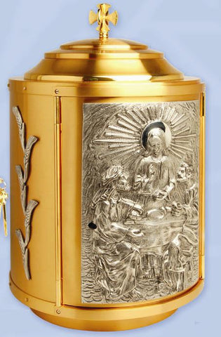 Tabernacle, Gold and Silver Plated