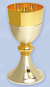 Chalice Only, Gold and Silver Plated