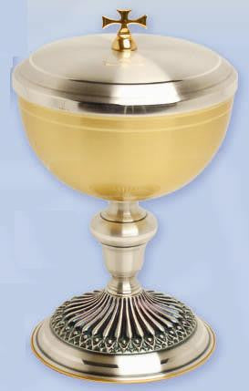 Ciborium, Gold and Silver Plated
