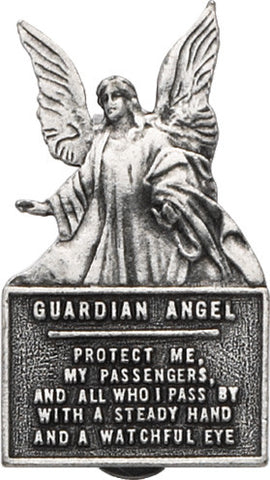 Guardian Angel Protect Me Visor Clip Carded