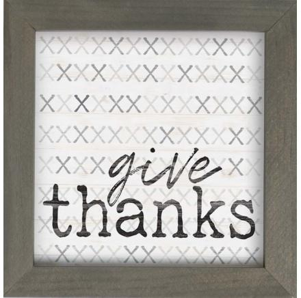 Give Thanks Wall Art