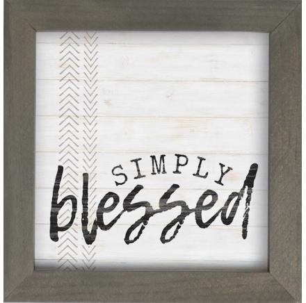 Simply Blessed Wall Art