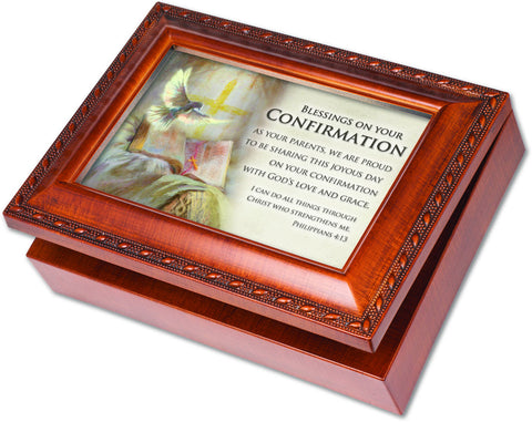 Blessings Confirmation Keepsake Music Box