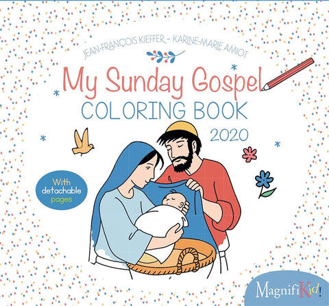 My Sunday Gospel Coloring Book 2020
