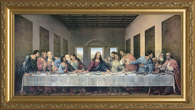 Last supper by Da Vinci 11 x 16