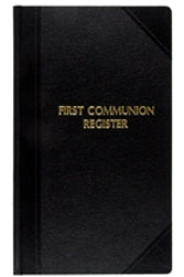 "First Communion Register  9 x 14""  1000 entries"