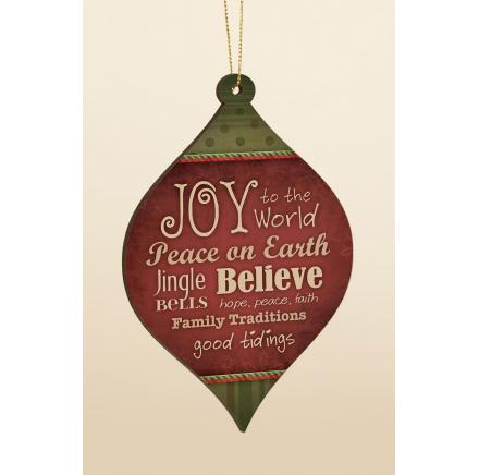 Joy To The World - Ornament