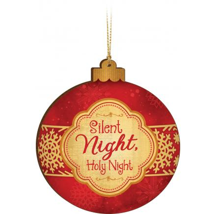Silent Night, Holy Night - Ornament