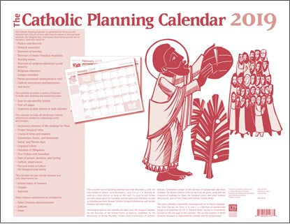 Catholic Planning Calendar 2019