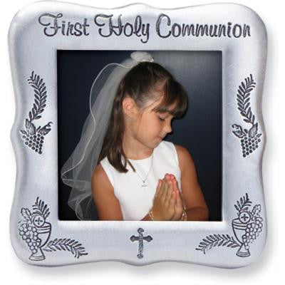 3 Inch First Communion Message Frame Boxed