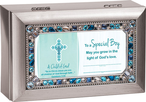 To a special boy, Keepsake Music Box