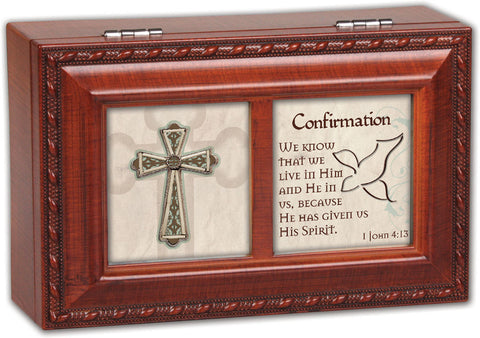 Confirmation Dove Keepsake Music Box
