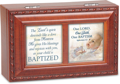 Baptism Keepsake Music Box