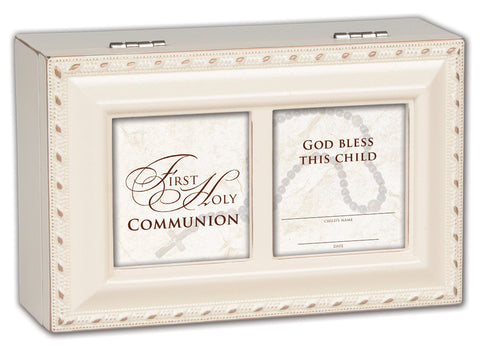 First Holy Communion Keepsake Music Box