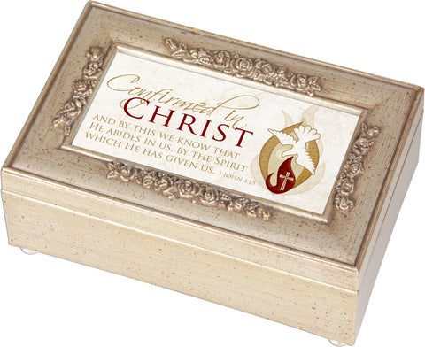 Confirmed in Christ Keepsake Music Box