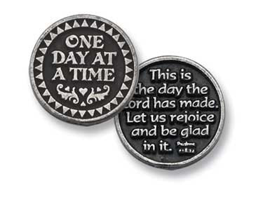 One Day At A Time/This Is The Day Pocket Token