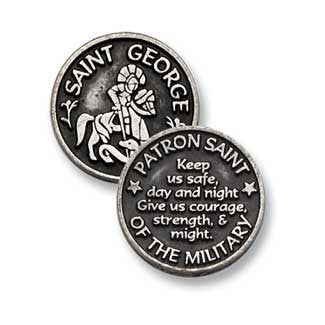 St. George Patron Saint  Military  Token