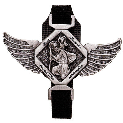 St. Christopher Motorcyclist Clip