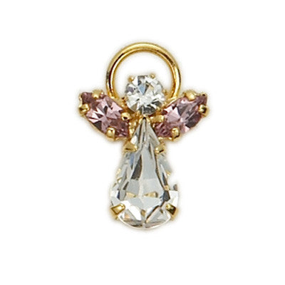 Birthstone Guardian Angel Pin June