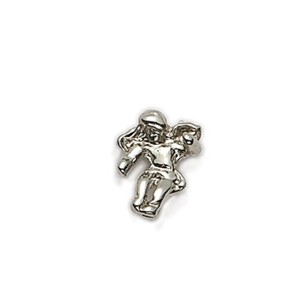 Pin Silver Angel Shoulder