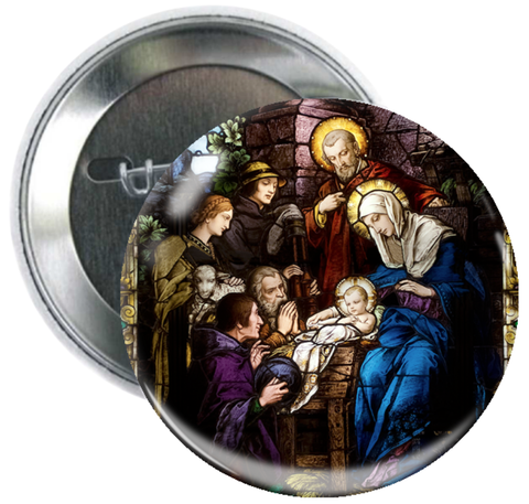 Nativity Button