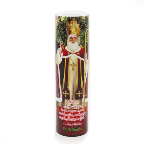 LED Candle – Saint Nicholas of Myra