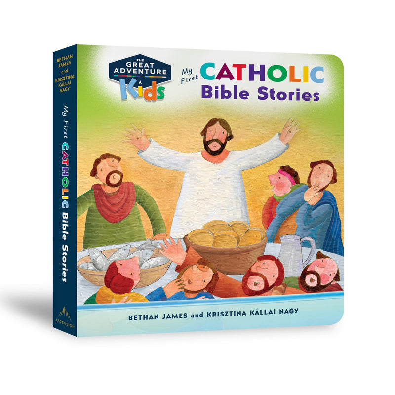 My First Catholic Bible Stories Board Book (Ages 1-3)