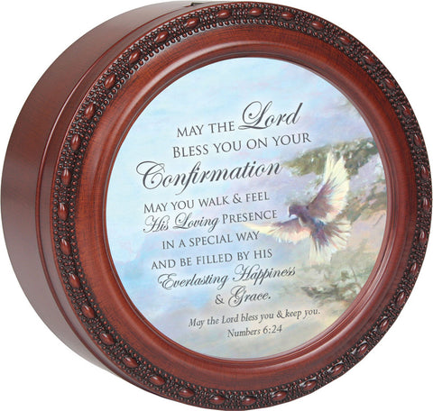 May the Lord Confirmation Music Keepsake Box