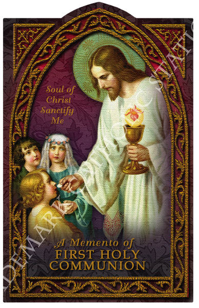 Anima Christi Holy Card