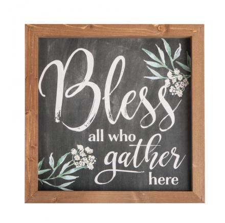 Bless All Who Gather Here Wall Art