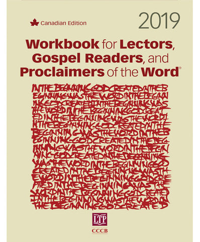 Workbook for Lectors, Gospel Readers, and Proclaimers of the Word® 2019 Canada