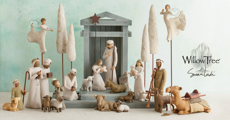 Classic Nativity | Shepherd And Stable Animals