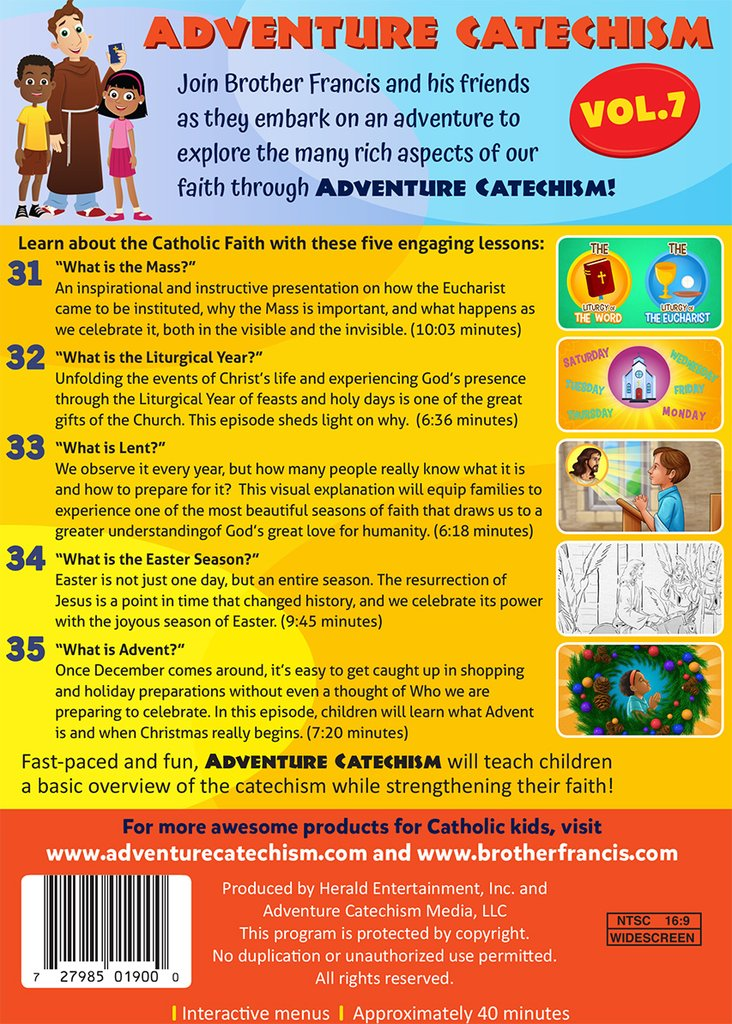 Adventure Catechism Volume 7 [DVD]