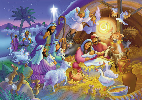 Heavenly Night Advent Calendar - Medium Advent Calendar