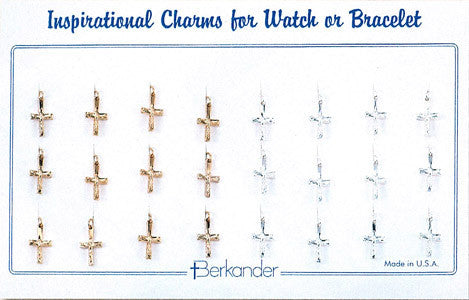 Watch Medal Gold/Silver Crucifix