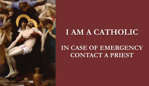 In Case of Emergency Prayer Card