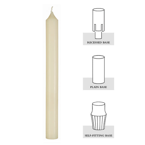 Full Diameter 51% Beeswax Altar Candles