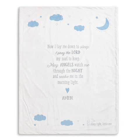 Goodnight Prayer Blanket - Blue