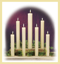51% Beeswax Altar Candles