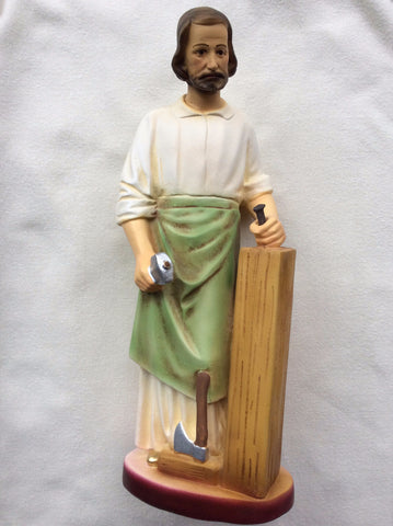 St. Joseph the Worker Statue 12""