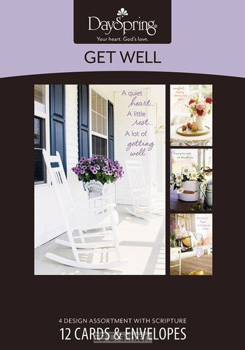 Boxed Card Get Well