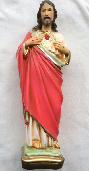 Sacred Heart of Jesus Statue 17""