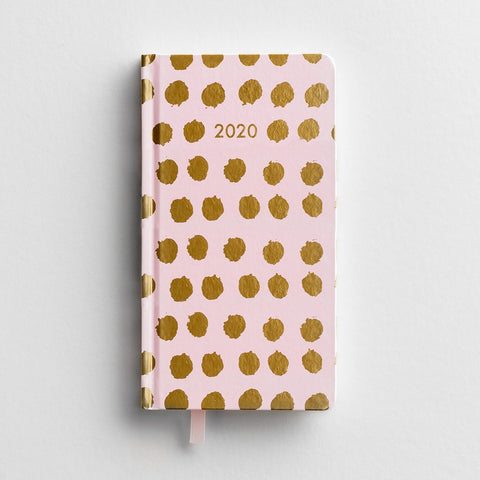 Premium Inspirational Pocket Planner-2020-Dots